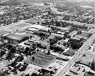 San Bernardino Valley College - San Bernardino Valley College, circa 1933
