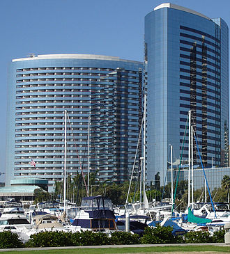 Marriott International - San Diego Marriott Marquis & Marina, one of the highest revenue-generating Marriotts in the United States