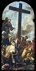 San Moisè (Venice) Interno - L'esaltazion della Croce e sant'Elena (Pietro Liberi).jpg