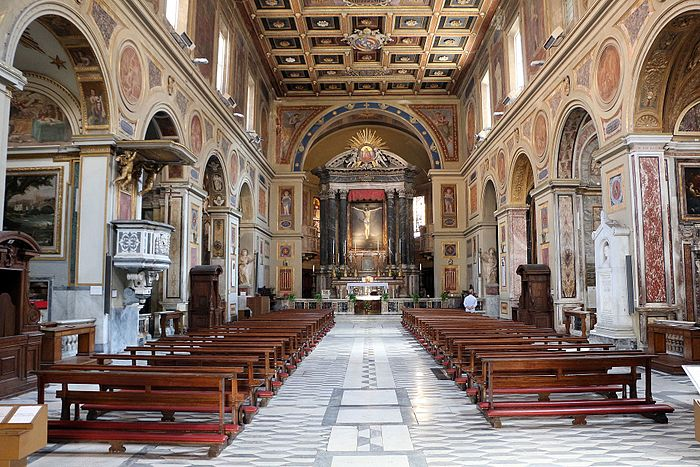 San lorenzo in lucina, interno 01