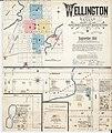 Sanborn Fire Insurance Map from Wellington, Sumner County, Kansas. LOC sanborn03109 001-1.jpg