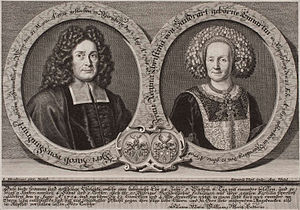 Jacob von Sandrart - Jacob and Regina Christina von Sandrart