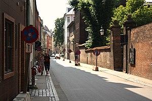 Sankt Peders Stræde - A view down Sankt Peders Stræde