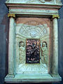 Santa lucia al prato, int. ciborio quattrocentesco, bottega dei Rossellino 04.JPG