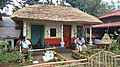 "Santal House at ""State Tribal Festival-2020"" (Odisha), bhubaneswar, India.jpg"