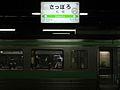Sapporo Train station signs.jpg