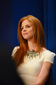 Description de l'image  Sarah Rafferty in January 2013.jpg.