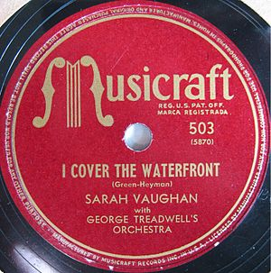 George Treadwell - Sarah Vaughan I Cover the Waterfront with George Treadwell's Orchestra.