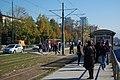 Sarajevo Tram Eastbound-Stop-Univerzitet 2011-10-18.jpg