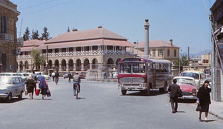 Sarayonu in 1969 Sarayonu old North Nicosia.jpg