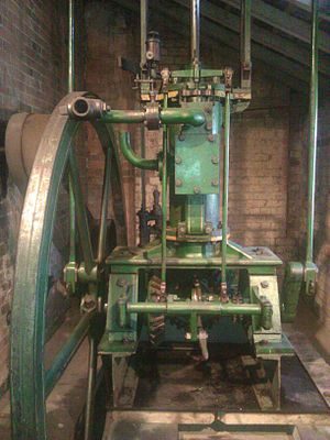Sarehole Mill - The steam engine at Sarehole Mill