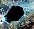 Satellite image of Dagze Co.jpg