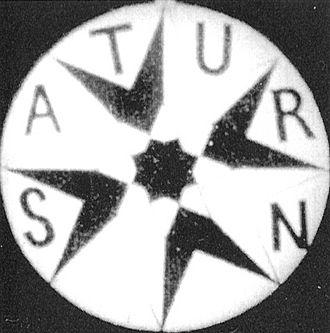 Johann Schwarzer - Logo for Saturn-Film, 1908