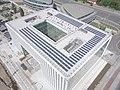 Saulės elektrinės ant biurų komplekso sostinės Saltoniškių gatvėje stogų..jpg