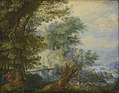 Savery, Roelandt - Landscape with hunters.jpg