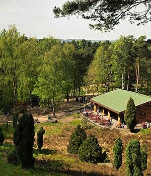"Lüneburg Heath Wildlife Park - The ""Moose Lodge Restaurant"""
