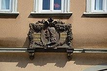 Tafel am Geburtshaus Friedrich Rückerts (Quelle: Wikimedia)