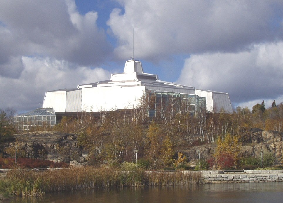 Science north building in 2007