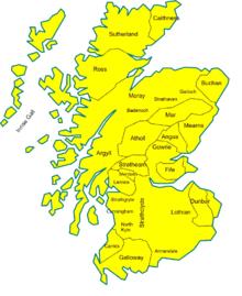 Cartina Stradale Della Scozia.Scozia Nell Alto Medioevo Wikipedia
