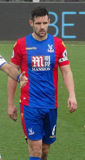 Scott Dann - Dann playing for Crystal Palace in 2016