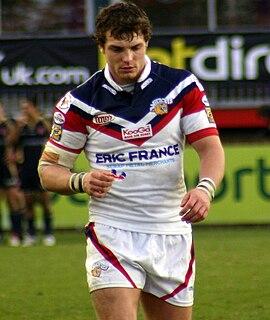 Scott Grix English rugby league footballer