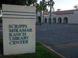 Scripps Ranch, San Diego - Image: Scripps Miramar Ranch Library Center