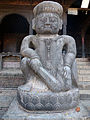 Sculpture at Bhaktapur Durbar square.JPG