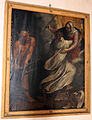 Scuola toscana, Beato Rasore Cesorio che fugge il demonio, 1600-50 ca.JPG