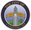 Official seal of Corning