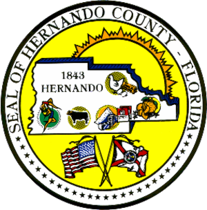 Hernando County, Florida - Image: Seal of Hernando County, Florida