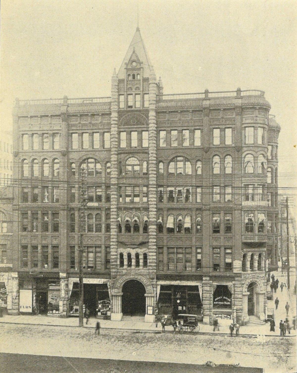 Pioneer Building - Pioneer Square - Seattle, WA