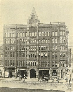 Seattle - Bâtiment Pionnier - 1900.jpg