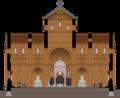 Seccion transversal Catedral de Medellin.png
