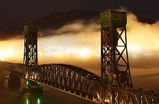 Second Narrows Bridge vertical-lift bridge