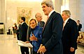 Secretary Kerry Walks With Italian Foreign Minister Bonino.jpg