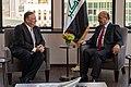 Secretary Pompeo Meets With Iraq President Salih (48778639827).jpg