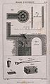 Sections of a furnace used in the processing of brass. Engra Wellcome V0023551.jpg