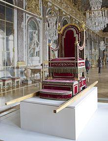Trono gestatorio di Papa Pio VII.