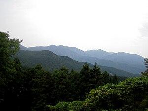 Sefuri Raizan Prefectural Natural Park - Mount Sefuri (1055 m)