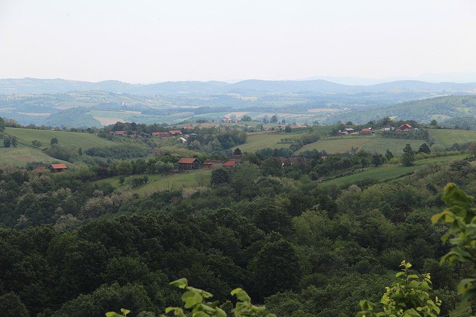 Selo Kotešica - opština Valjevo - zapadna Srbija - Panorama 4
