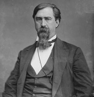 1864 Democratic National Convention - Image: Sen Daniel W Voorhees 04790r