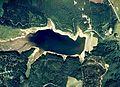 Senganishi-Tameike water reservoir Aerial photograph.1976.jpg