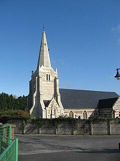 Senneville-sur-Fécamp Commune in Normandy, France
