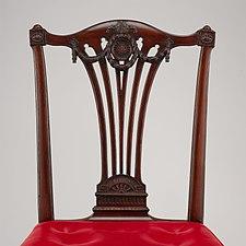 Set of fourteen side chairs MET DP110781