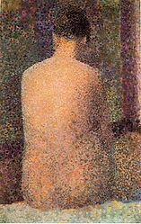 Georges Seurat: Poseuse de dos