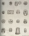 Seventeen different pieces of sealed, precious medicinal ear Wellcome V0010841.jpg