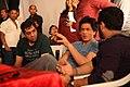 Shahrukh Khan, Adnan Safee and Bappaditya Roy. On the sets of Hyundai i16.jpg