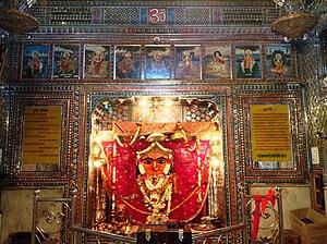Shakambhari - Shakambari Mata Temple in Sambhar, Rajasthan