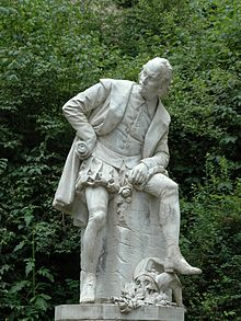 Shakespeare-Denkmal in Weimar (Quelle: Wikimedia)
