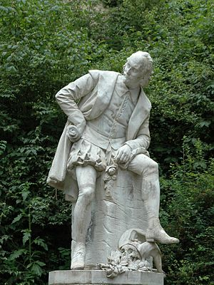 Deutsch: Shakespeare Denkmal Sommer 2004 in Weimar